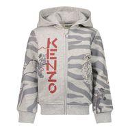 Afbeelding van Kenzo K05072 baby vest grijs