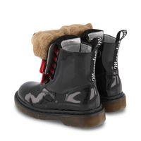 Picture of MonnaLisa 8C8019 kids boots black