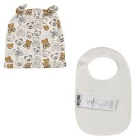 Picture of Moschino MUY03R baby hat white