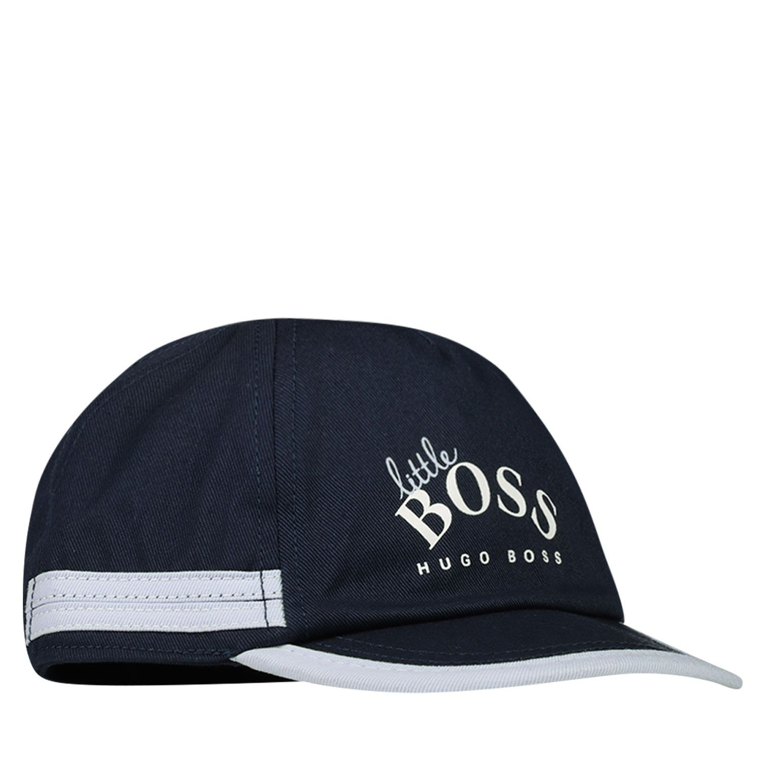 Picture of Boss J91113 baby hat navy