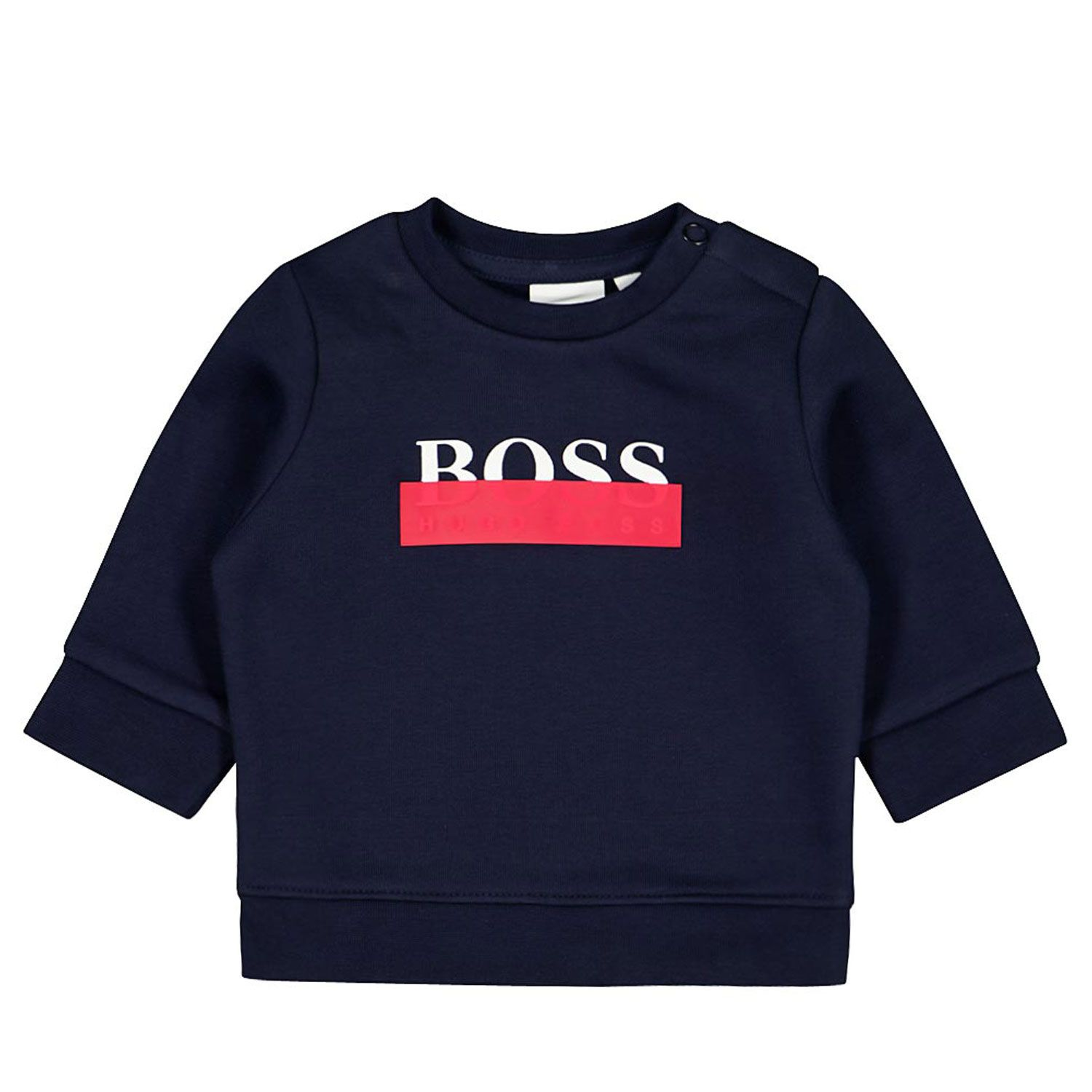 Picture of Boss J05820 baby sweater navy