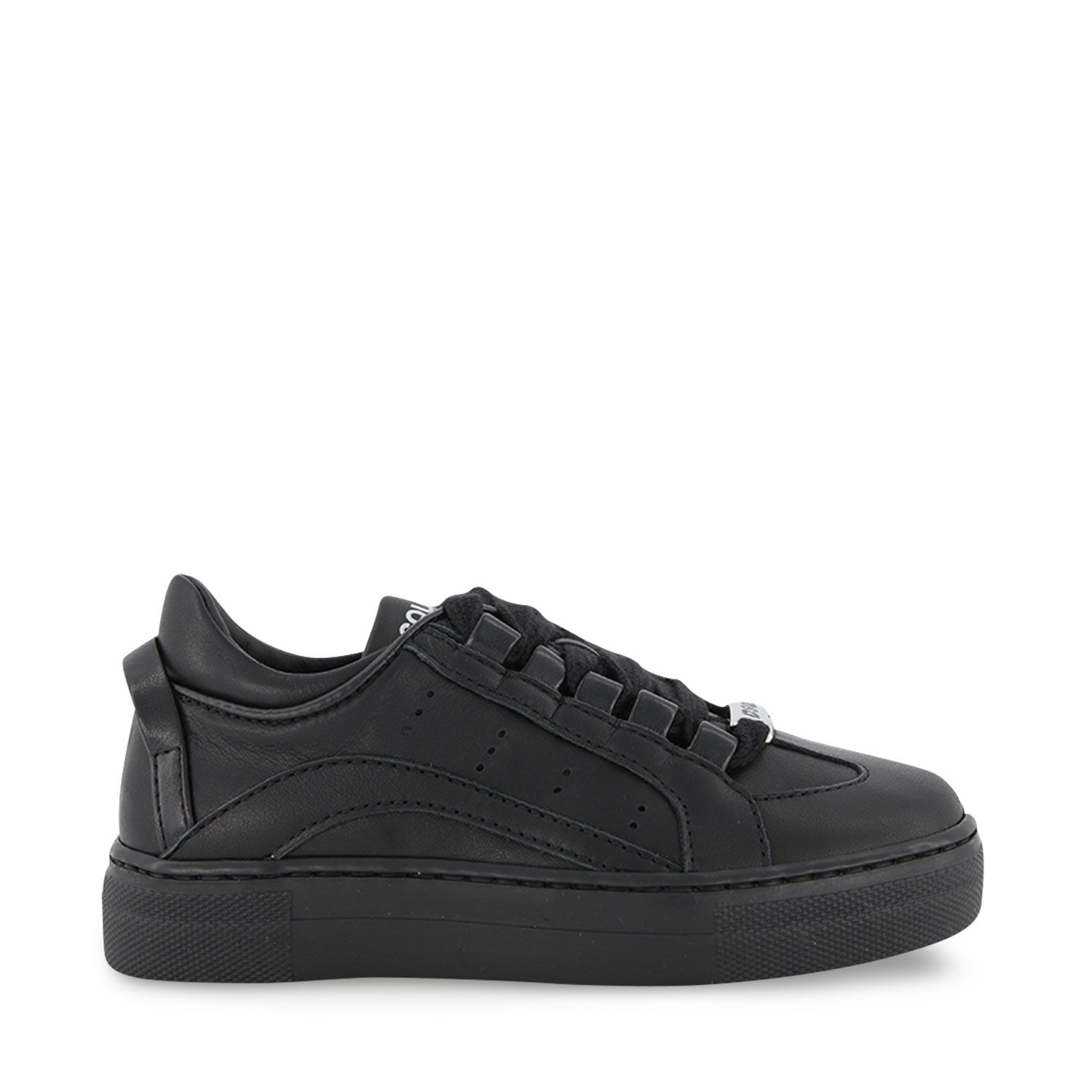 Picture of Dsquared2 67071 kids sneakers black