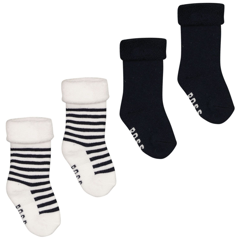 Picture of Boss J90214 baby socks navy