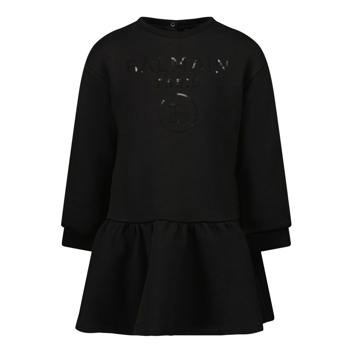 Picture of Balmain 6O1830 baby dress black