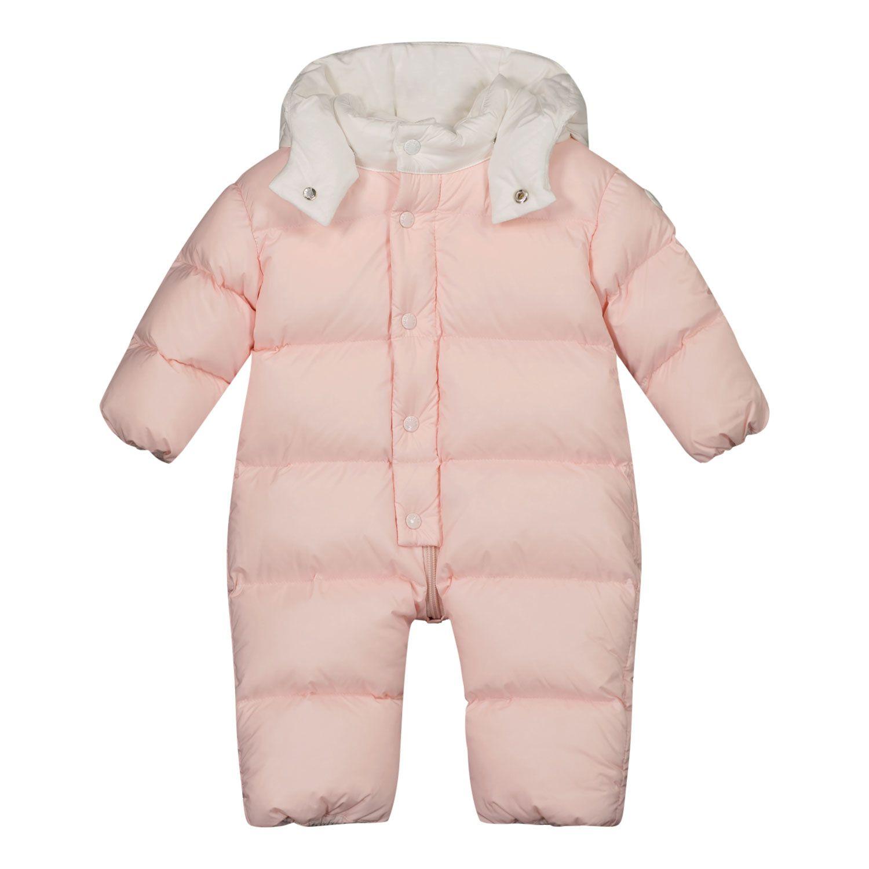 Bild von Moncler 1G52100 Baby-Schneeanzug Hellrosa