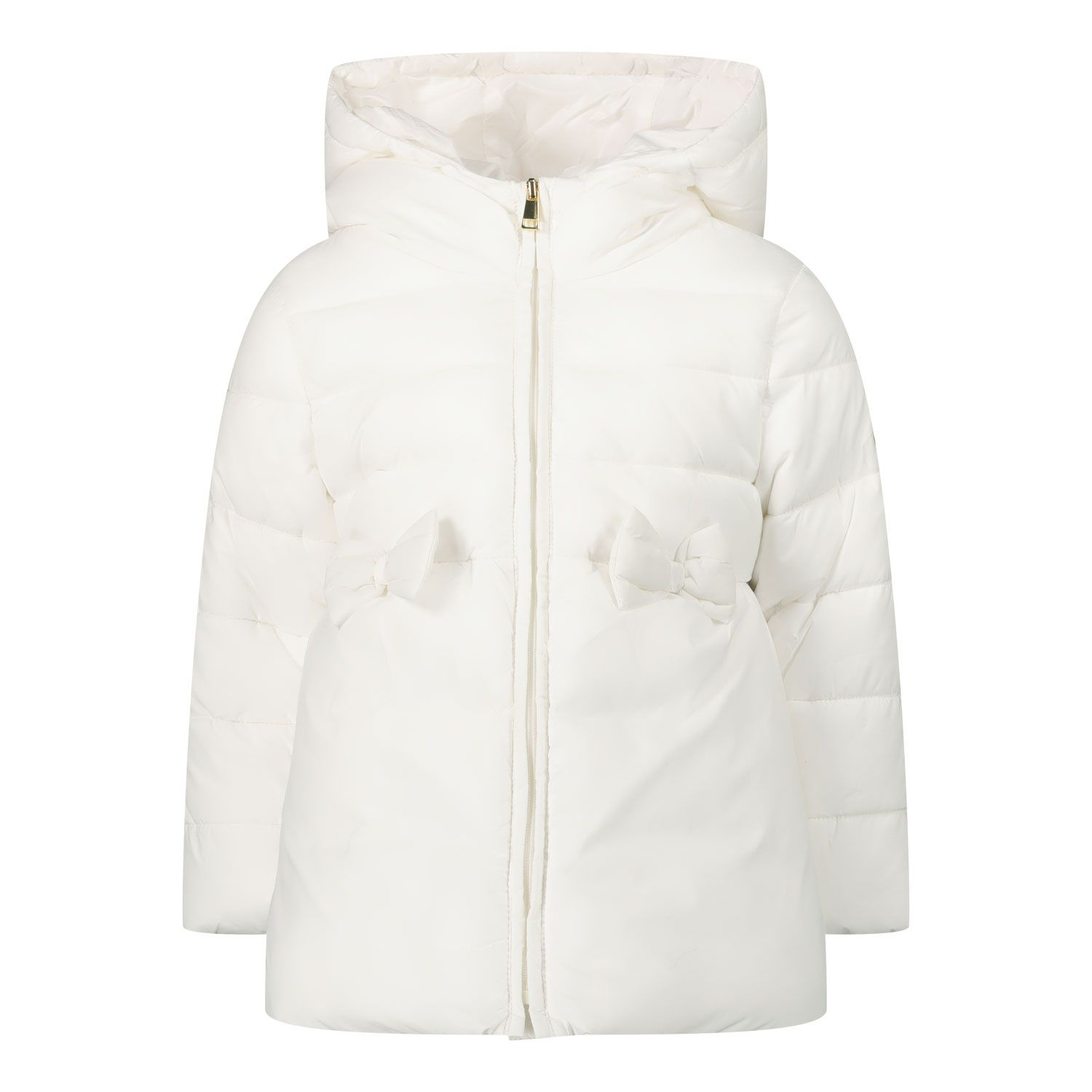 Picture of Liu Jo HF0003 baby coat off white