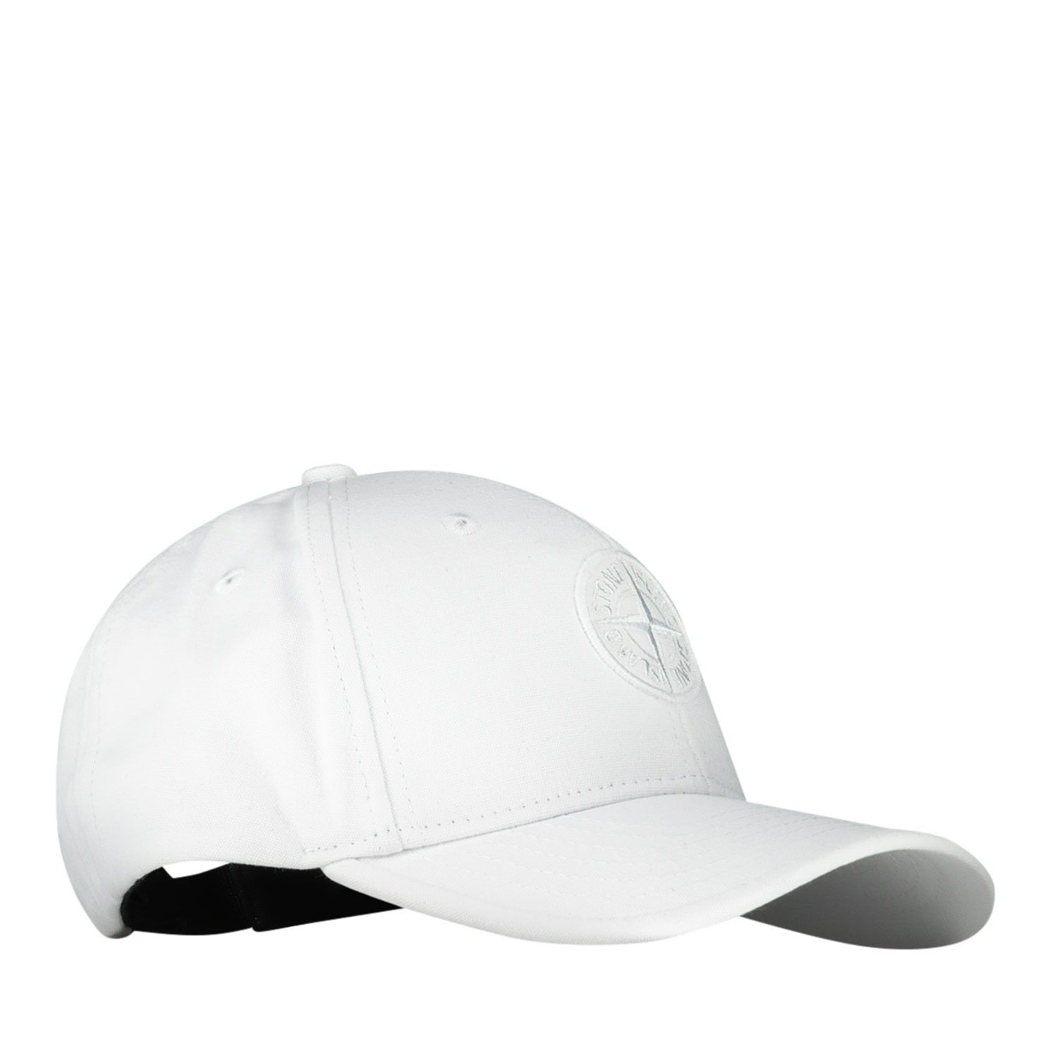 Picture of Stone Island 101691265 kids cap white
