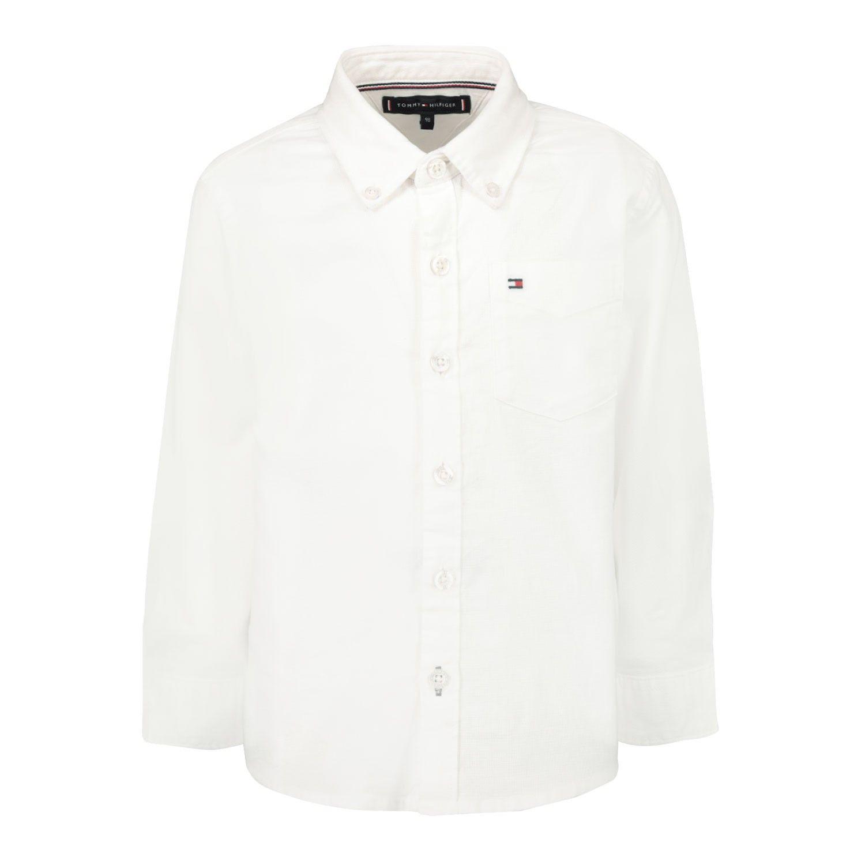 Afbeelding van Tommy Hilfiger KB0KB05981B baby blouse wit
