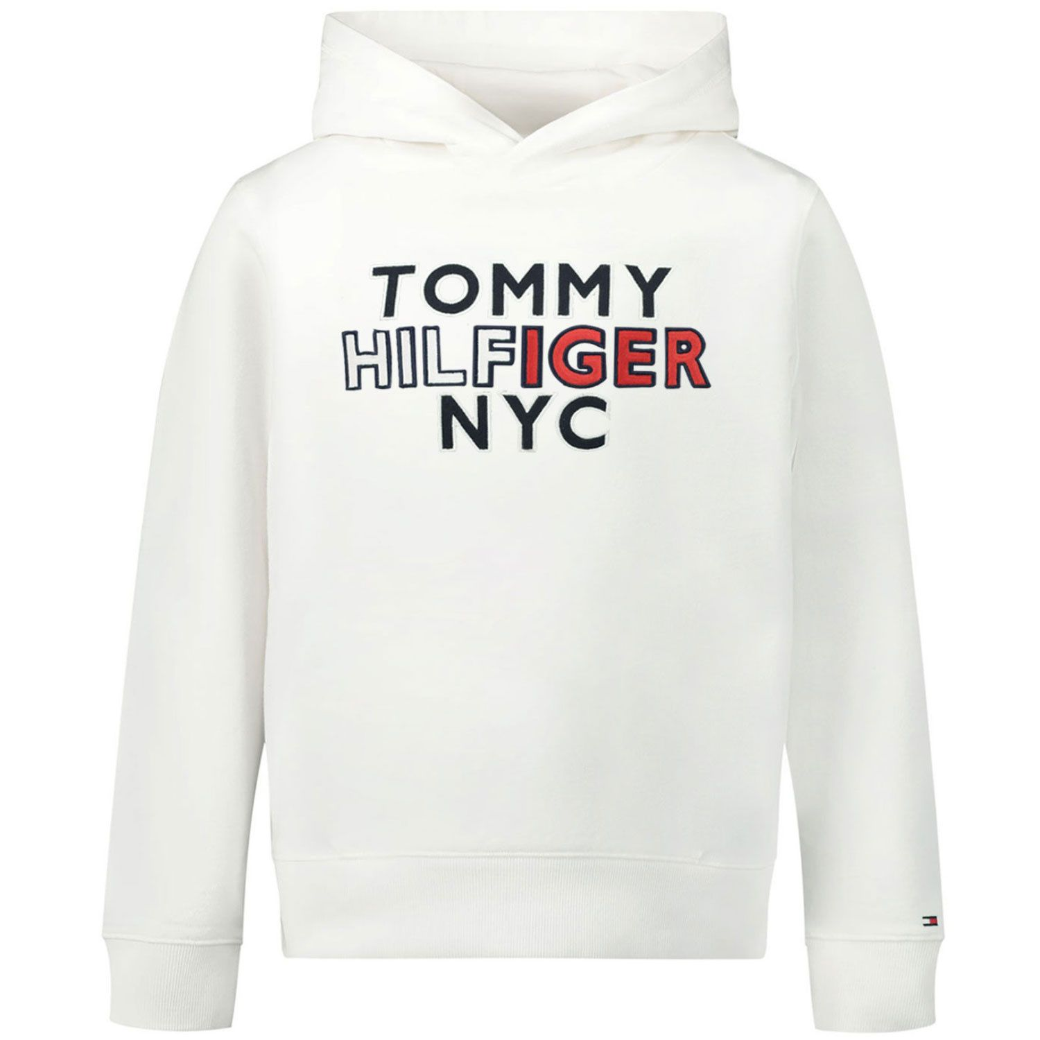 Picture of Tommy Hilfiger KB0KB05808 kids sweater white