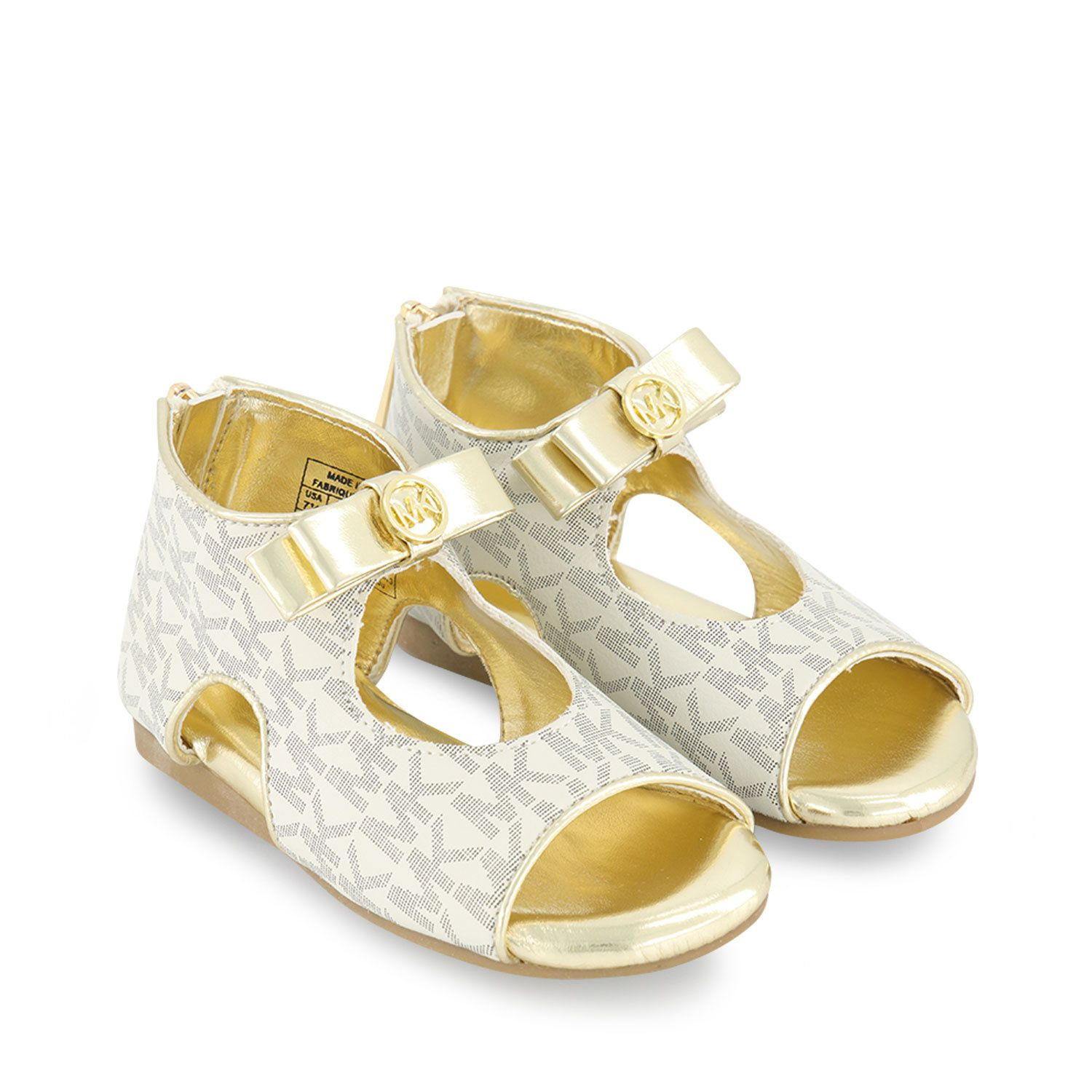 Picture of Michael Kors MK100061 kids sandals off white