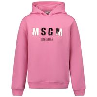 Picture of MSGM MS027388 kids sweater pink