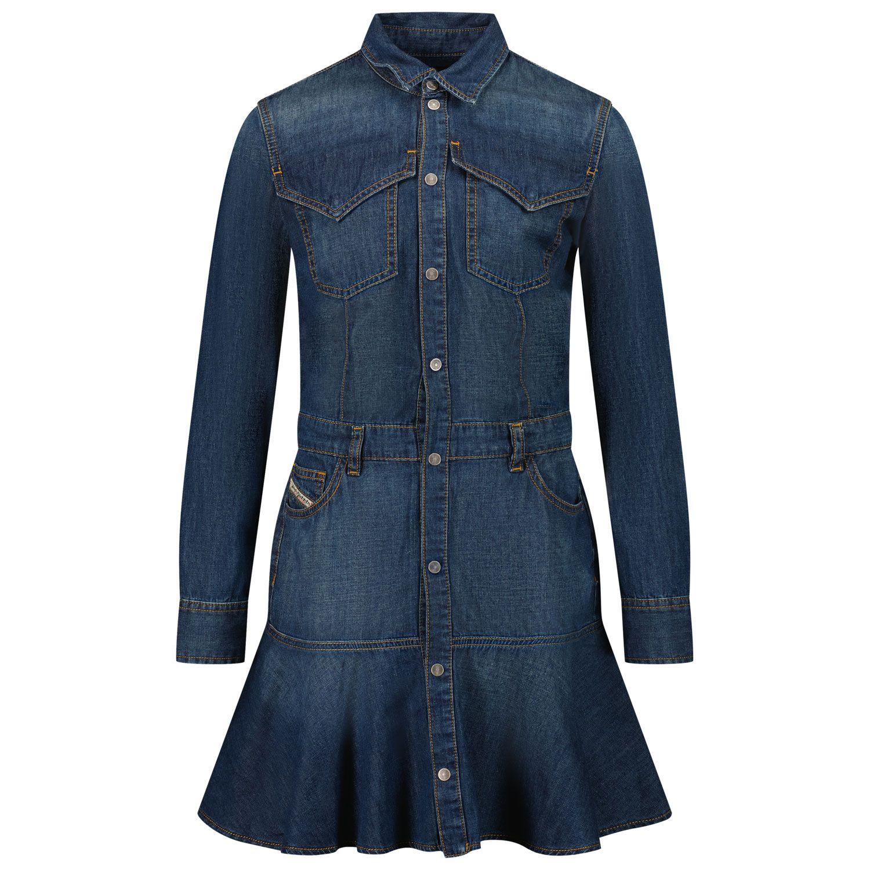 Picture of Diesel J00249 kids dress jeans