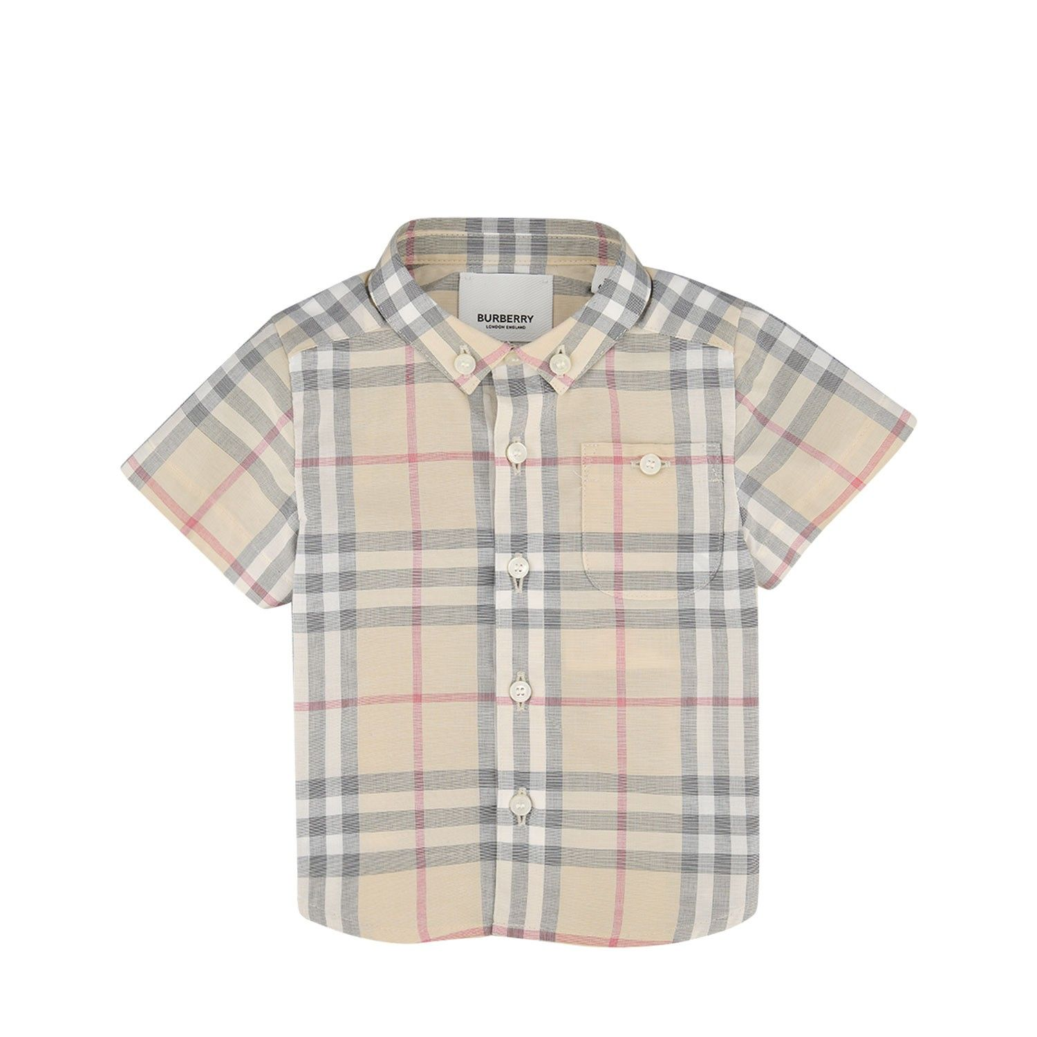 Picture of Burberry 8022366 baby blouse light beige