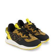 Afbeelding van Fendi JMR363 AEGR kindersneakers bruin