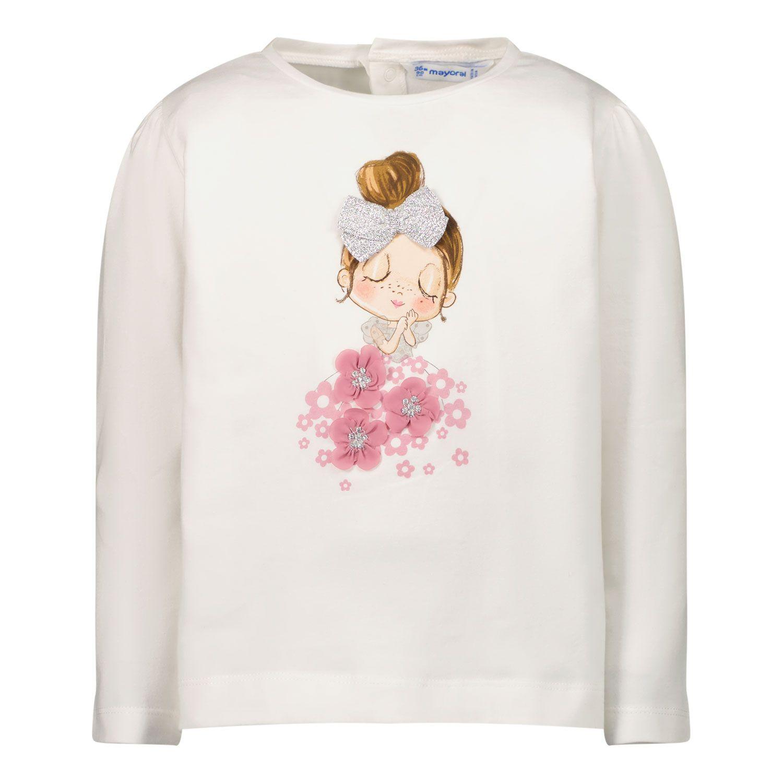 Bild von Mayoral 2083 Baby-T-Shirt Creme