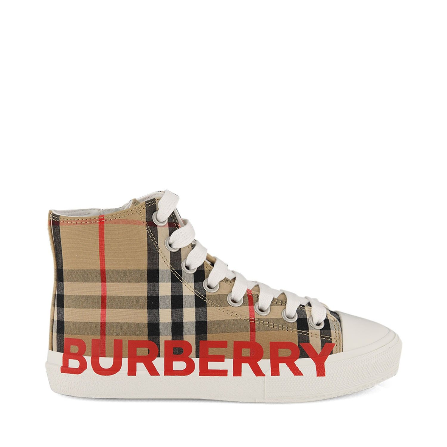 Picture of Burberry 8027071 kids sneakers beige