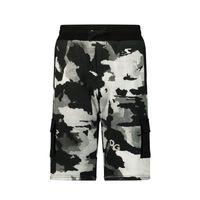 Picture of Dolce & Gabbana L4JQH9 HS7E1 kids shorts dark gray