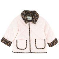 Picture of Fendi BUA044 AEYE baby coat light pink