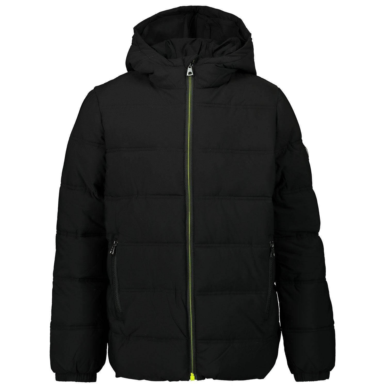 Picture of EA7 6HBB03 kids jacket black