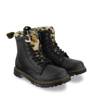Picture of Dr. Martens 26044001 kids boots panther