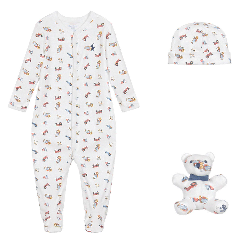 Bild von Ralph Lauren 320799049 Babystrampelanzug Weiß