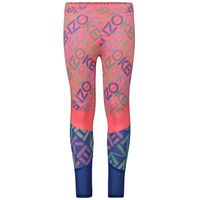 Picture of Kenzo KP24078 kids tights fluoro pink