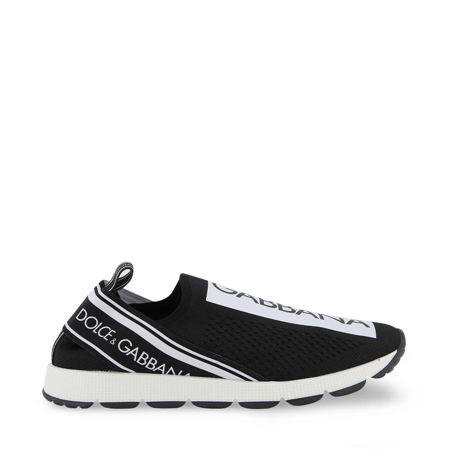 Picture of Dolce & Gabbana D10723 AH677 kids sneakers black
