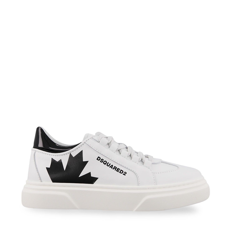 Afbeelding van Dsquared2 67074 kindersneakers wit