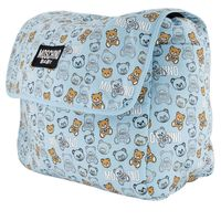 Picture of Moschino MNX03D diaper bags light blue