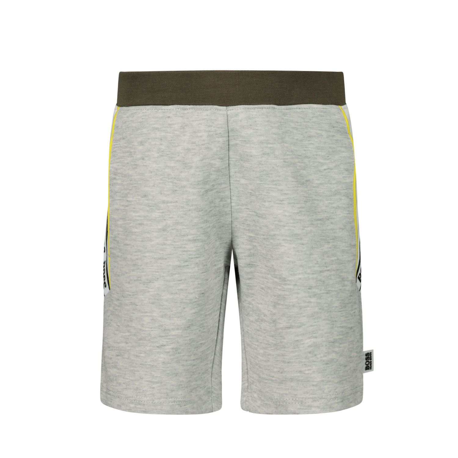 Picture of Boss J04394 baby shorts grey