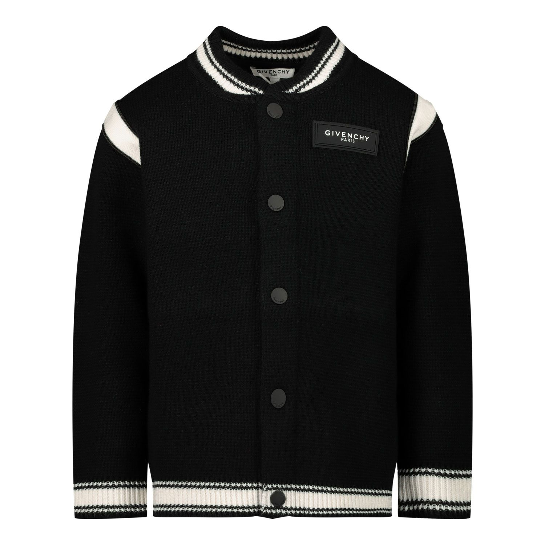 Afbeelding van Givenchy H05134 baby vest zwart