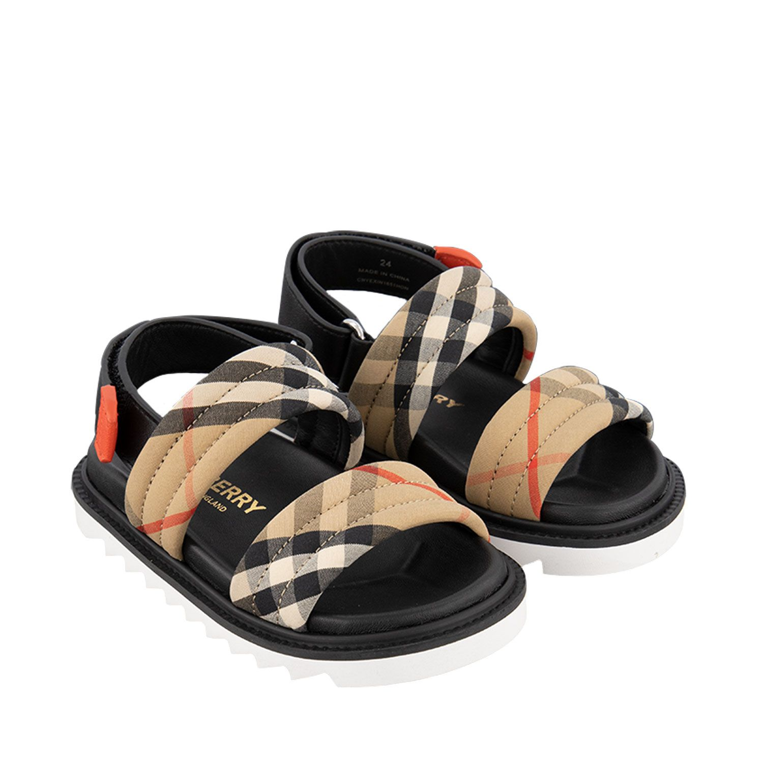 Picture of Burberry 8037144 kids sandals beige