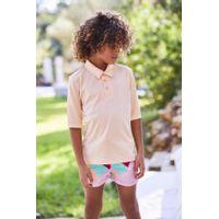 Picture of SEABASS UV SHIRT kids swimwear salmon