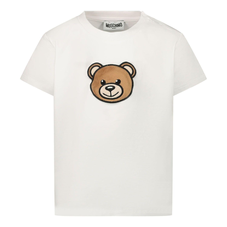 Picture of Moschino MUM02I baby shirt white