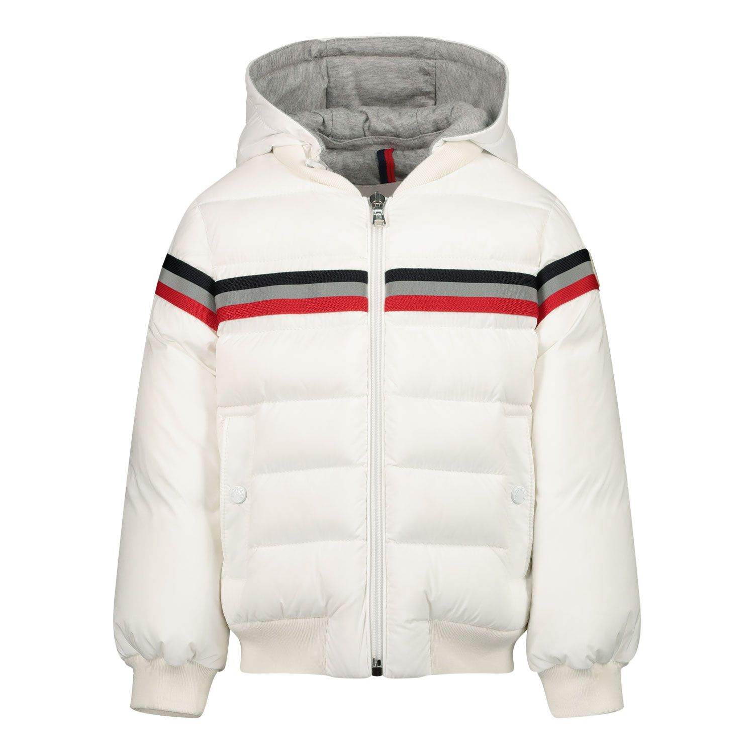 Picture of Moncler 1A51520 baby coat off white