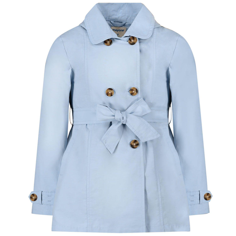 Picture of Mayoral 3487 kids jacket light blue