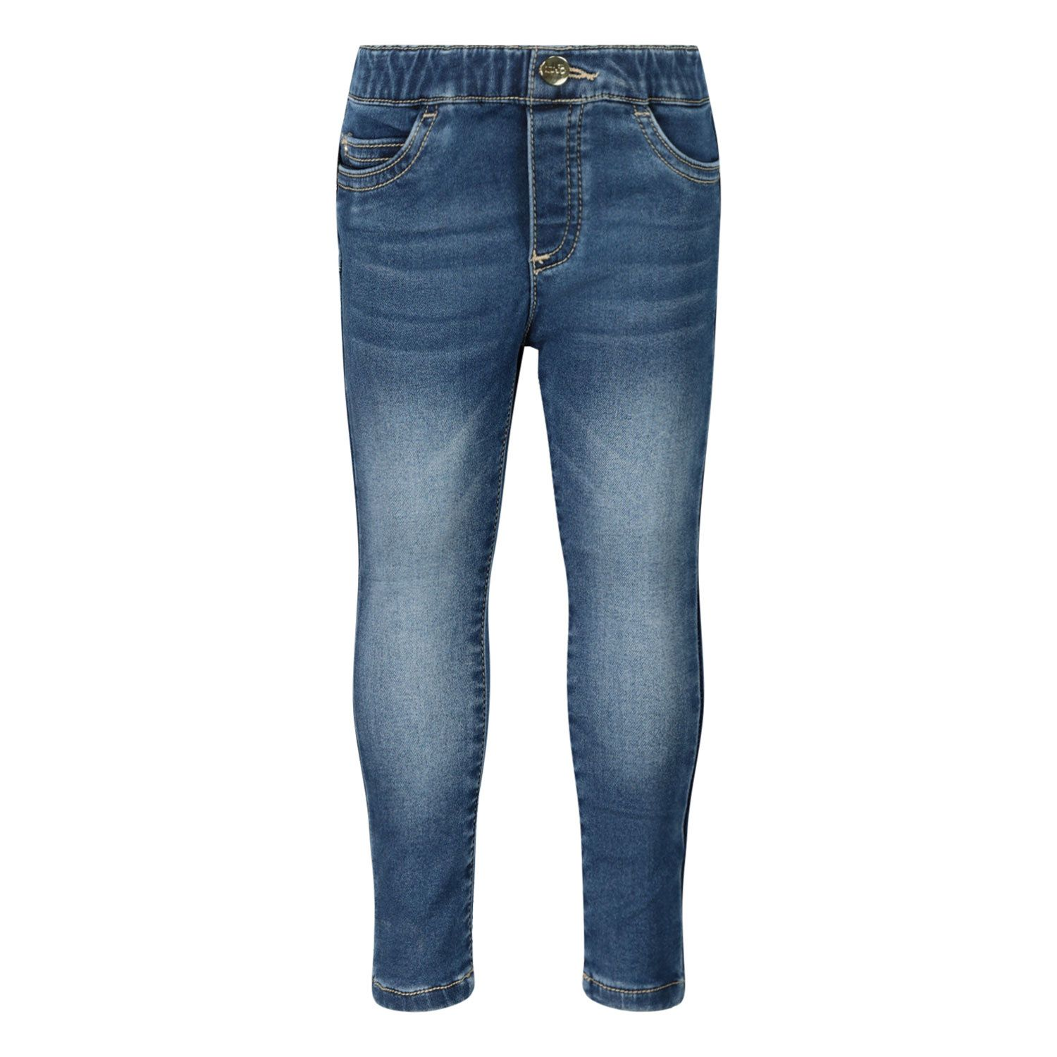 Picture of Liu Jo HF0026 baby pants jeans