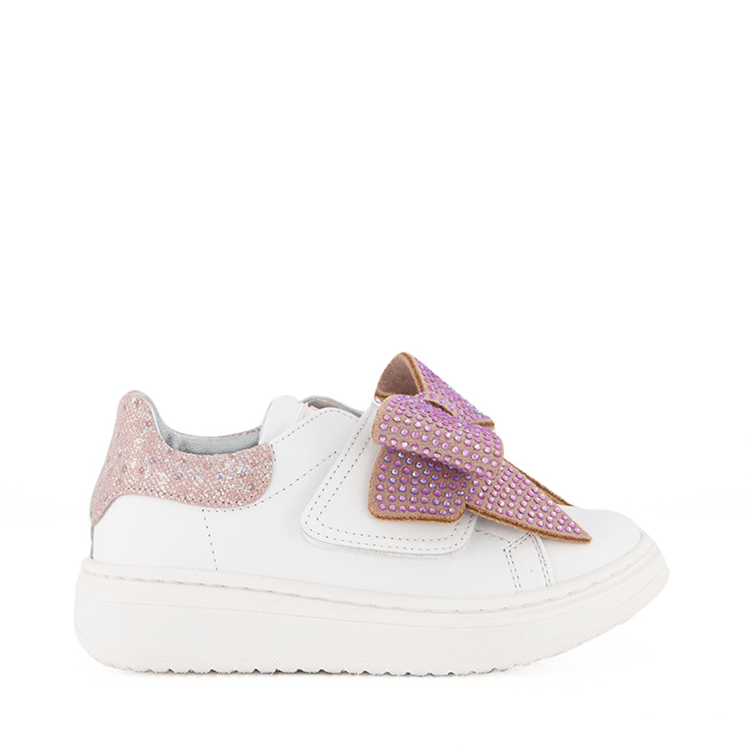 Picture of MonnaLisa 838005 kids sneakers white