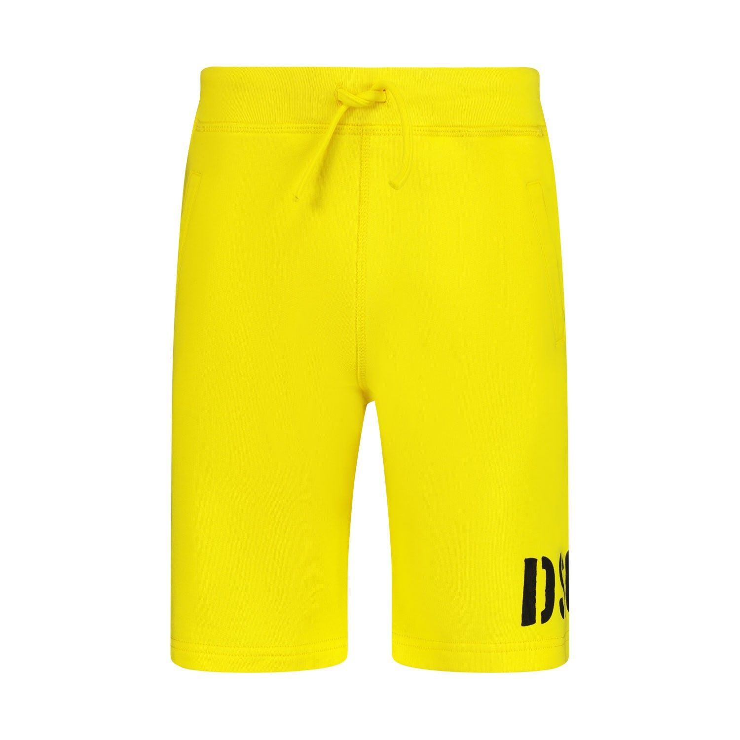 Picture of Dsquared2 DQ03WZ kids shorts yellow