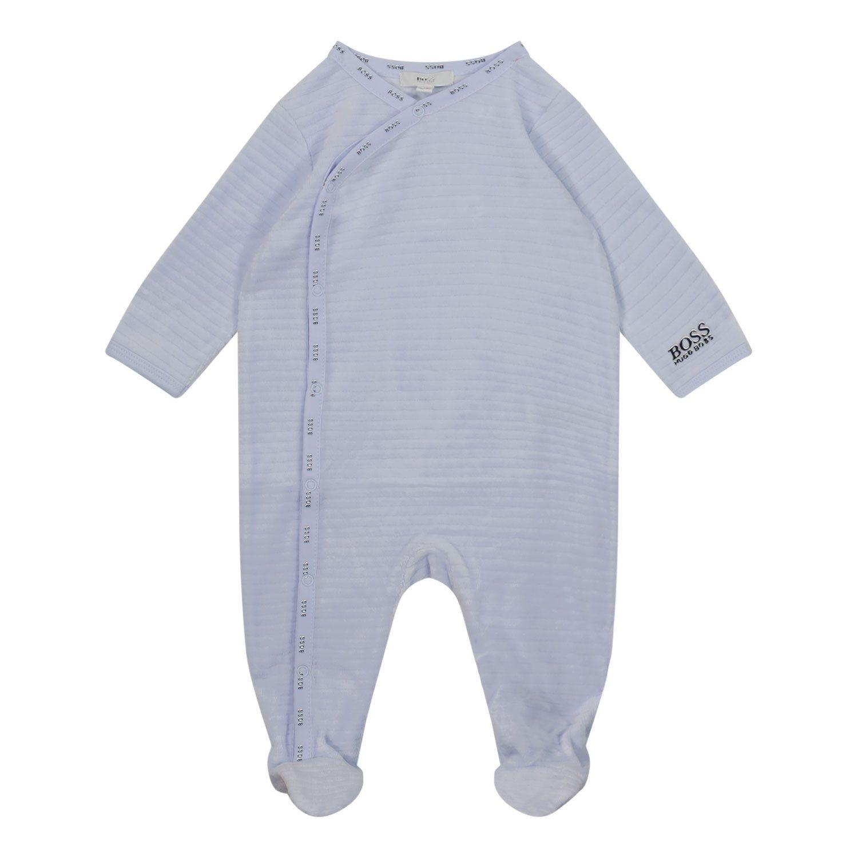 Bild von Boss J97180 Babystrampelanzug Hellblau