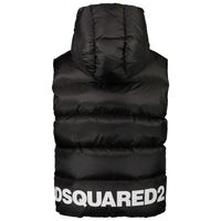 Picture of Dsquared2 DQ0483 kids bodywarmer black