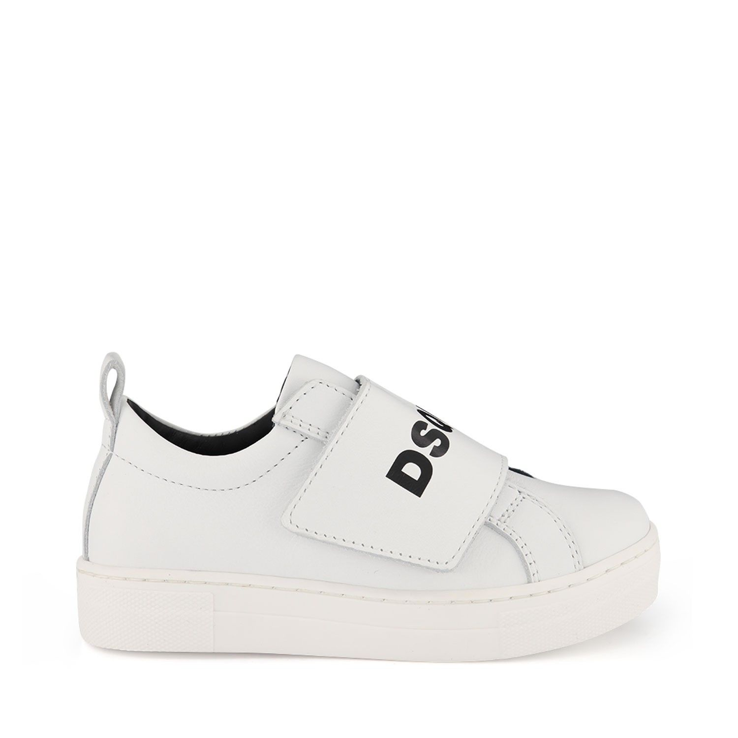 Picture of Dsquared2 63522 kids sneakers white