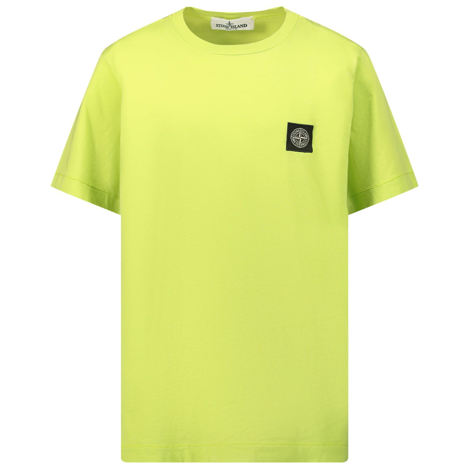 Picture of Stone Island 20147 kids t-shirt lime