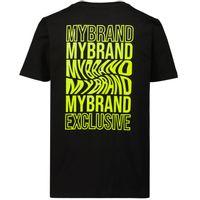 Picture of My Brand 3X21001C0002 kids t-shirt black
