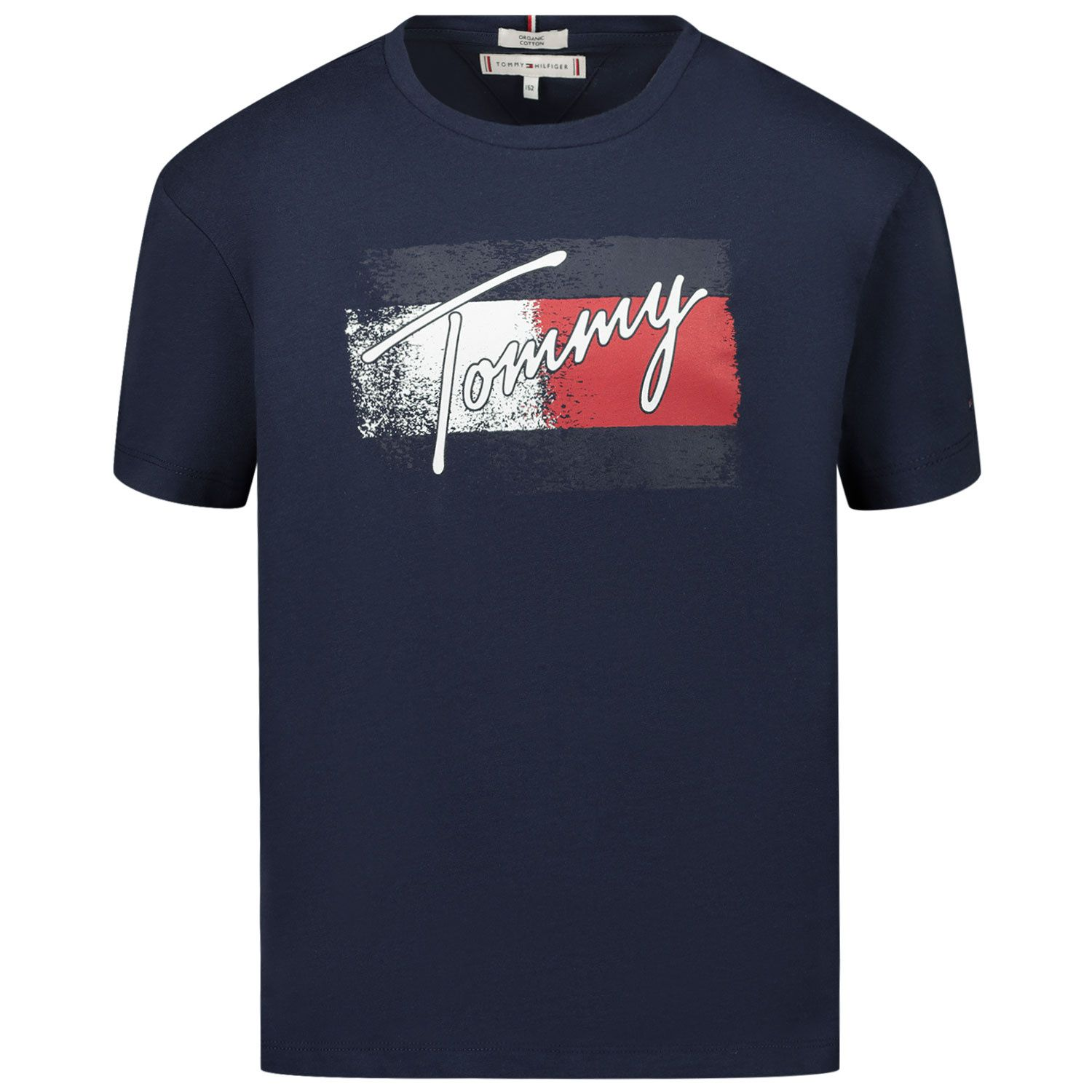 Picture of Tommy Hilfiger KG0KG05909 kids t-shirt navy