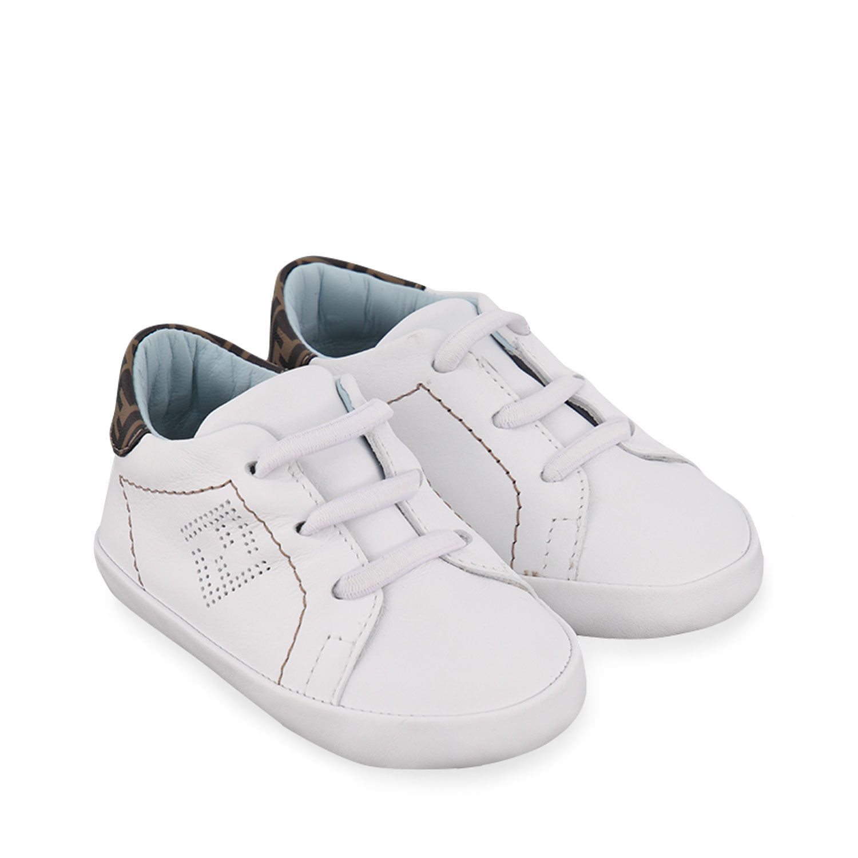 Picture of Fendi BUR032 baby shoes light blue