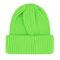 Picture of DKNY D31262 kids hat fluoro green