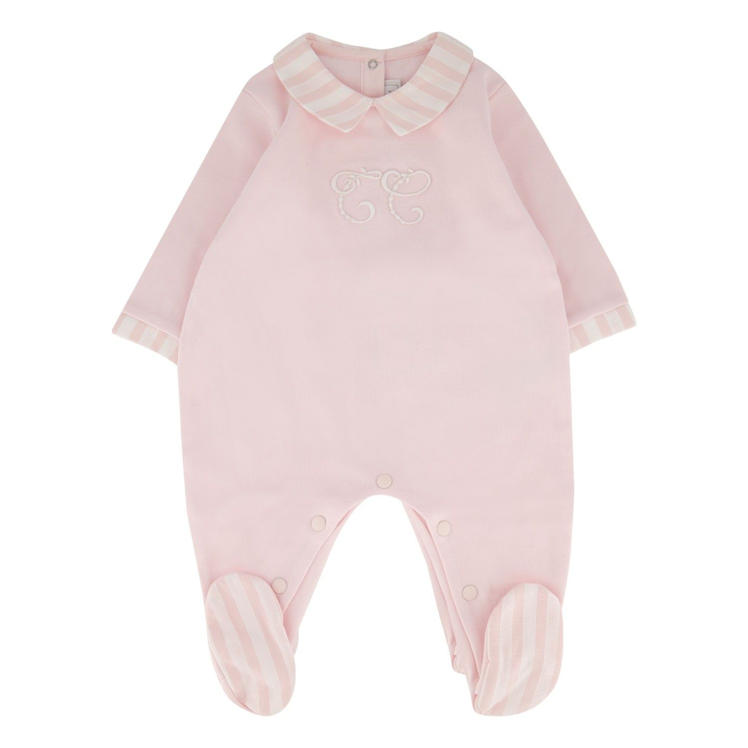 Picture of Tartine et Chocolat TP54241M baby playsuit light pink