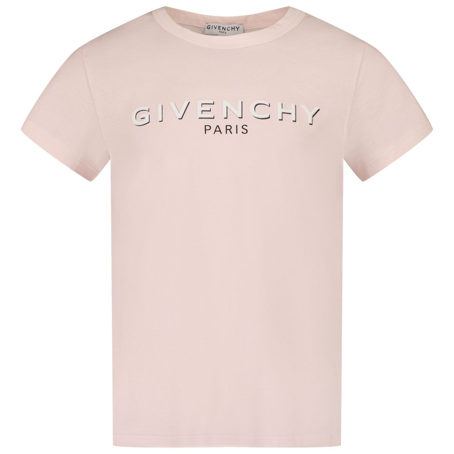 Picture of Givenchy H15214 kids t-shirt light pink