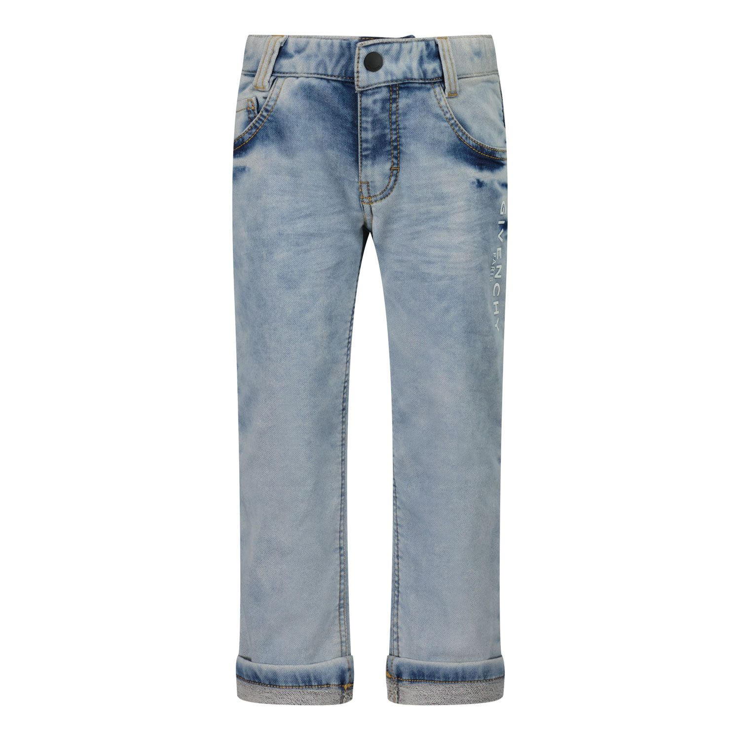 Picture of Givenchy H04097 baby pants jeans